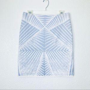 Marc Cain Boho Geometric Stretchy Pencil Skirt